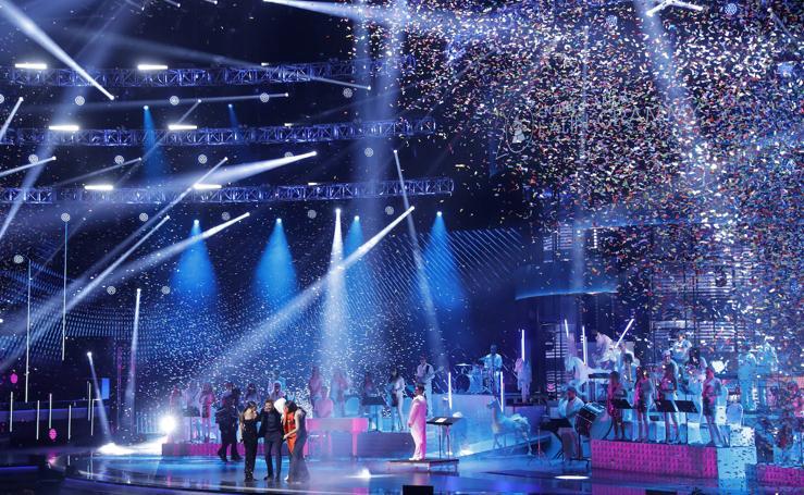 La noche de los Grammy Latino, en imágenes