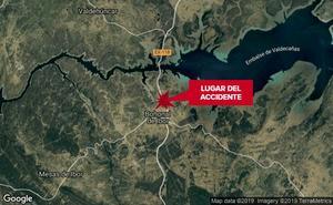 Dos hombres resultan heridos en una salida de vía en Bohonal de Ibor