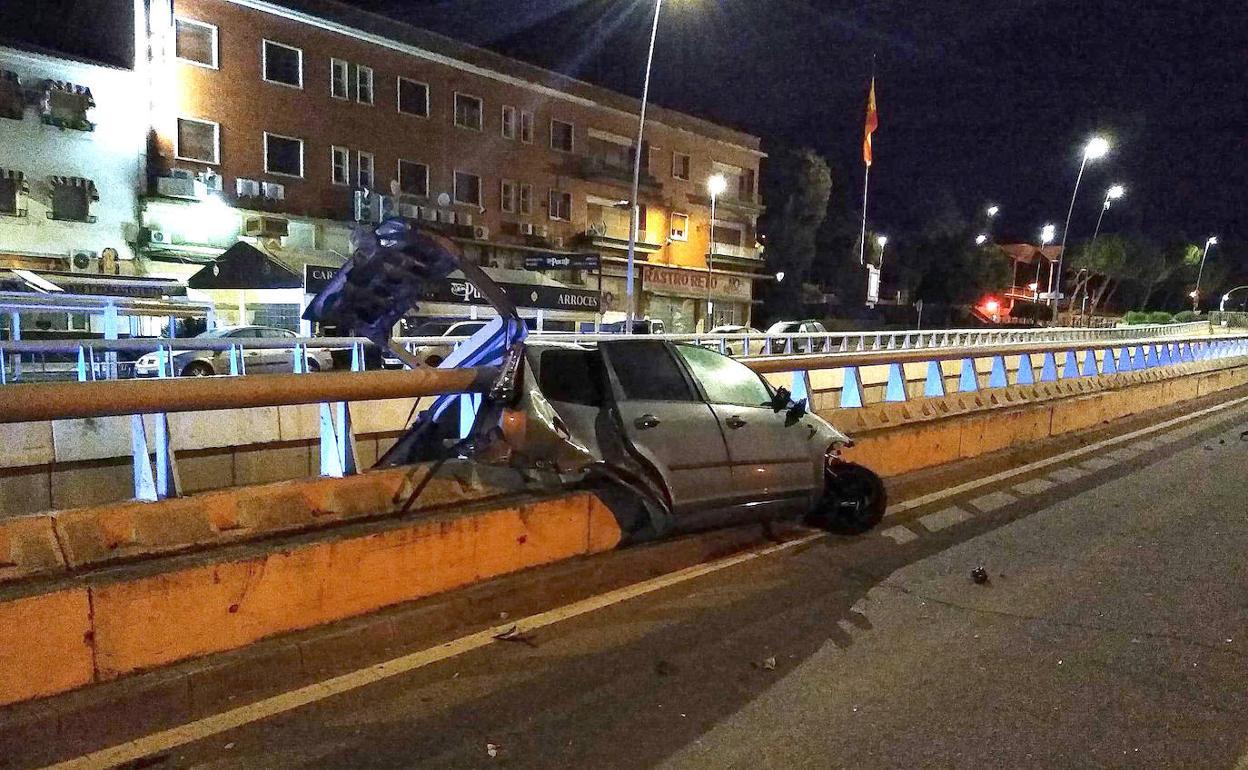 Fallece Un Joven De 24 Años Al Chocar Su Vehículo En El Túnel Subterráneo De Mérida Frente A Las Escolapias Hoy