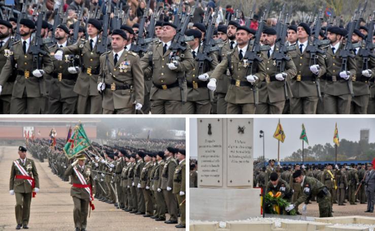 Los militares de Bótoa celebran el Día de la Inmaculada