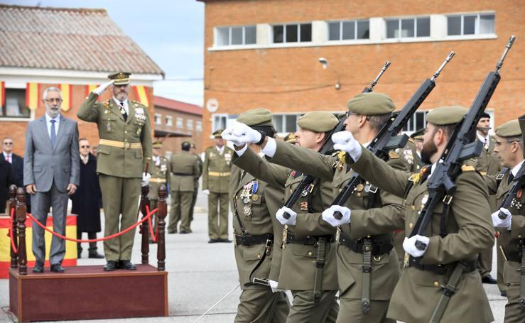 Celebración de la Inmaculada, patrona del Arma de Infantería, en el Cefot de Cáceres