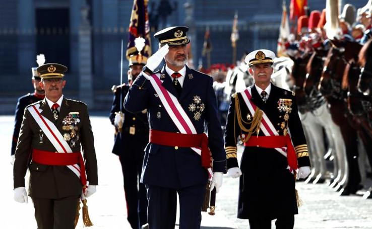 La tradicional ceremonia de la Pascua Militar, en fotos