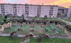 Las imágenes del hundimiento en Santander