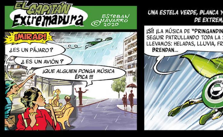 El capitán Extremadura