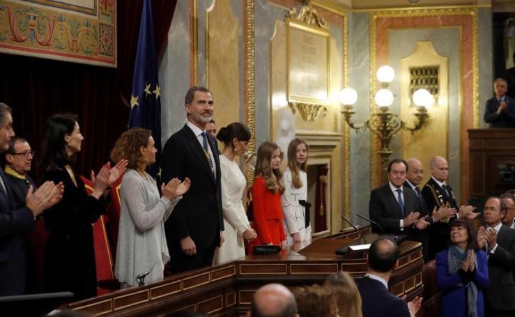 La apertura de la XIV Legislatura, en imágenes