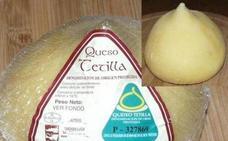 Sanidad retira del mercado cinco quesos y una manteca vendidos en España
