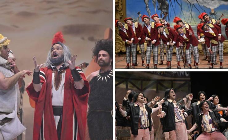 Primera semifinal del concurso de murgas del Carnaval de Badajoz