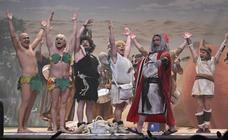 Final del concurso de murgas del Carnaval de Badajoz