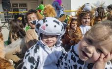 Los colegios adelantan el Carnaval desde bien temprano