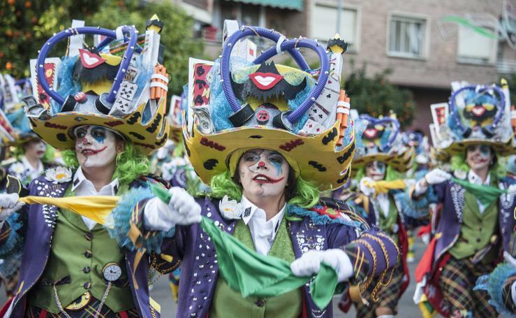 Las mejores fotos del desfile de Carnaval de Badajoz (2)