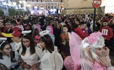 La marcha se muda a la Plaza de España