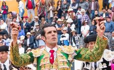Emilio de Justo, triunfador de la feria de Ambato
