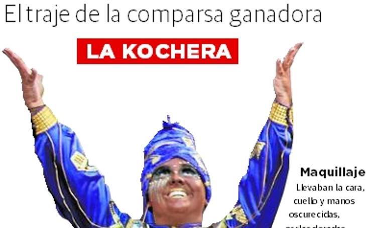 ¿Cómo es el traje de la comparsa ganadora del Carnaval de Badajoz?