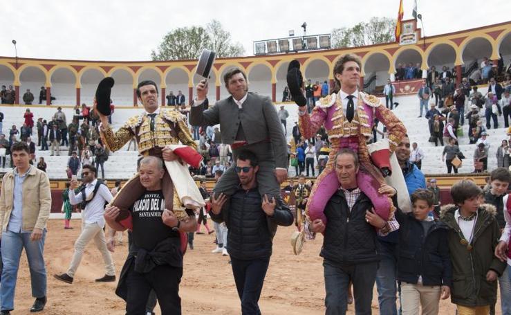 Tercer festejo de abono en la Feria de Olivenza