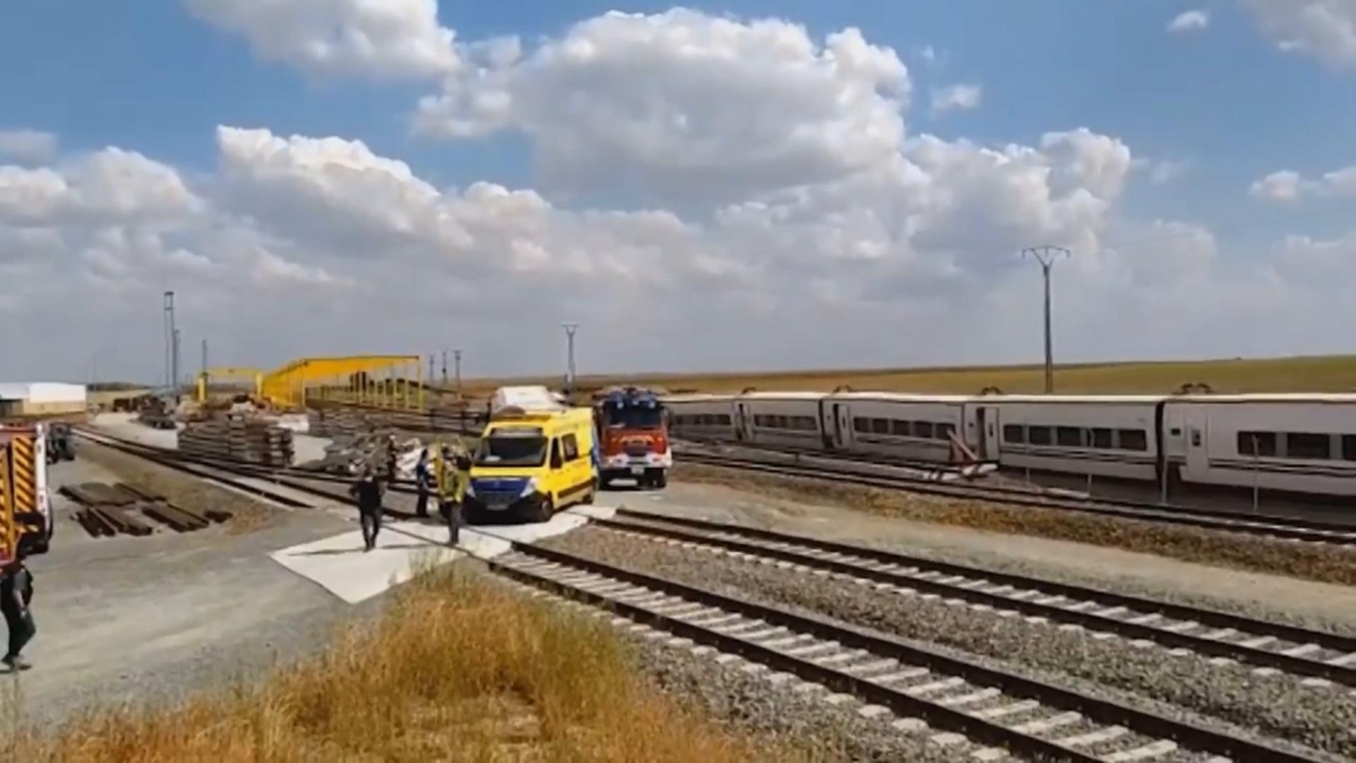 Dos fallecidos en el accidente del Alvia en Zamora