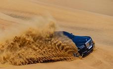 Rolls-Royce Cullinan: de ruta por el desierto