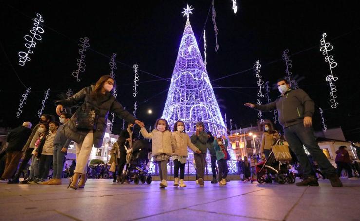 Encendido de las luces de Navidad de Mérida