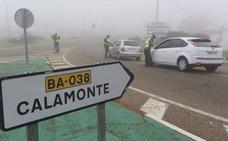 Decretan el cierre perimetral de Calamonte por la alta incidencia y la cepa británica