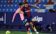 Las mejores imágenes del Levante-Barcelona