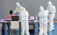 La región tiene 739 casos activos de covid, el 26% en el área sanitaria de Badajoz