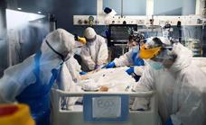 Los contagios de covid siguen disparados y vuelven a crecer las hospitalizaciones