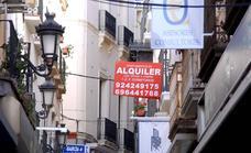 La Junta no detecta zonas en Extremadura donde haya problemas para alquilar