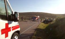 Muere el conductor de un turismo tras el choque frontal con un camión cerca de Palomas