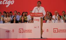 El PSOE reducirá su ejecutiva en el próximo congreso regional