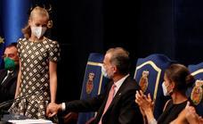 La entrega de los premios Princesa de Asturias, en imágenes
