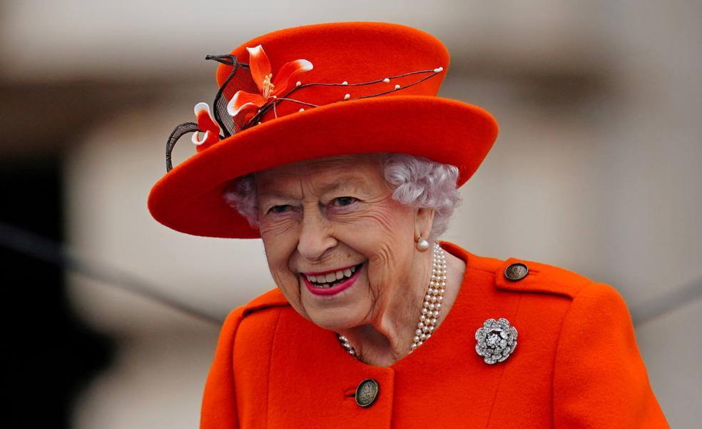 La reina Isabel II, el pasado día 7 de octubre.