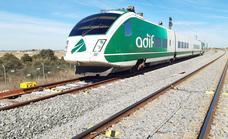 Adif inicia nuevas pruebas para poner en marcha el tren rápido entre Plasencia y Badajoz