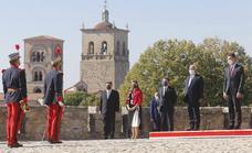 La cumbre hispano-lusa llega a Trujillo en medio de un maremágnum político