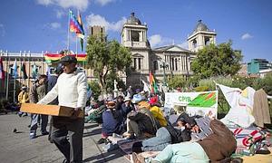 Morales suspende la construcción de la polémica carretera