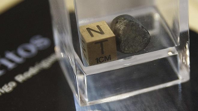 Descubierto un meteorito que cayó en León en 1931