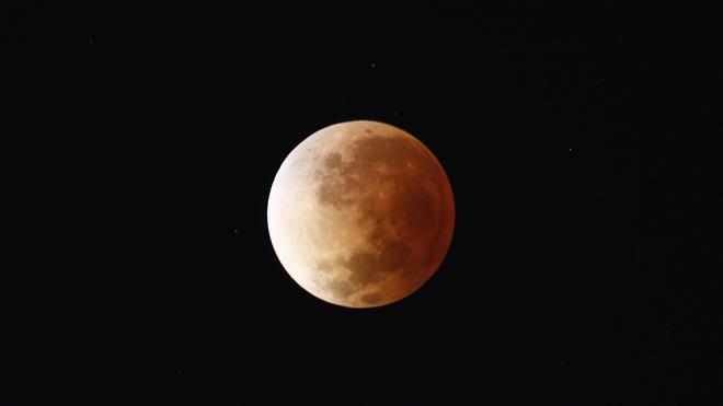 El día que la Luna se pintó de rojo