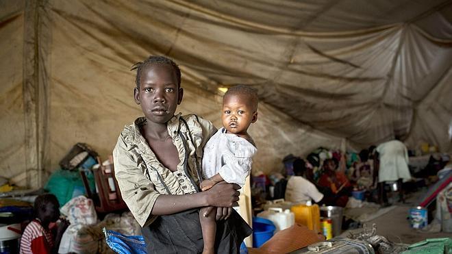 Unos 50.000 niños podrían morir de hambre en Sudán del Sur