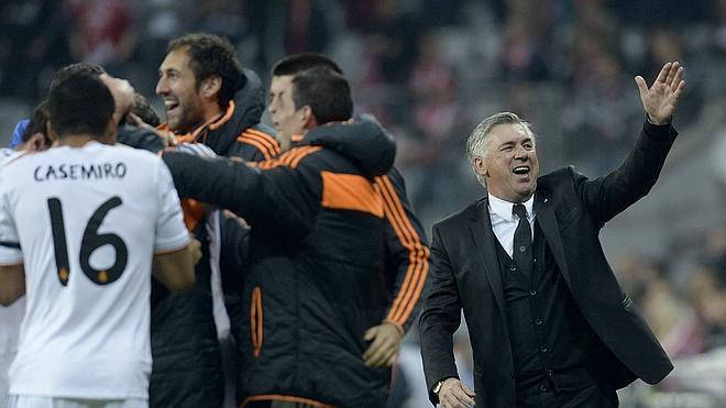 Ancelotti: «Fue un partido perfecto en la primera parte, pero no me sorprendió»