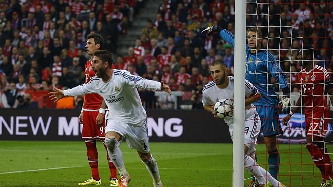 Ramos se venga de Neuer