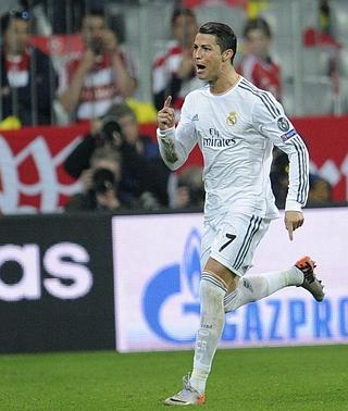 Cristiano Ronaldo logra el récord de goles en la Champions: 16