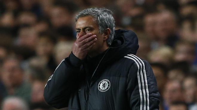 Y Mourinho vivió otra alegría atlética en su propia casa once meses después