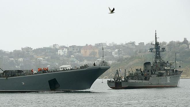 Rusia reforzará su Armada en Crimea