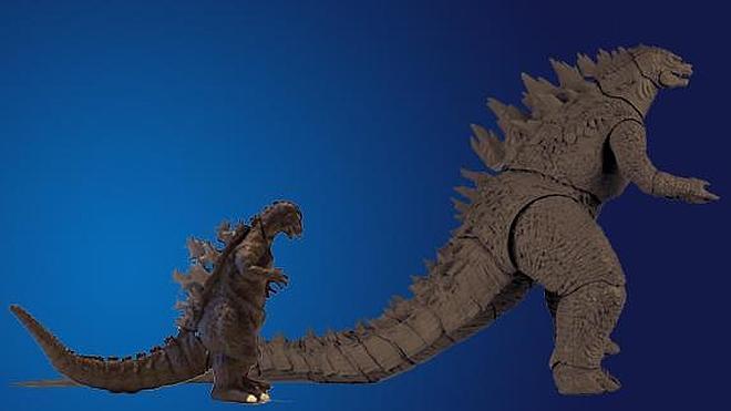 Un Godzilla entrado en años y kilos