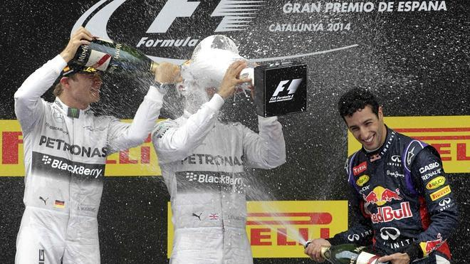 La Fórmula 1 atropella a sus rivales