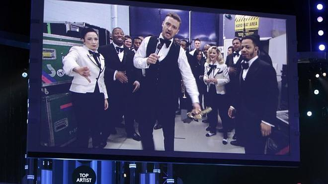 Justin Timberlake reina en los Billboard con siete premios