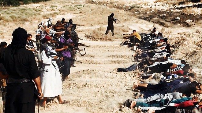 El ISIS anuncia en Twitter la ejecución de 1.700 soldados iraquíes