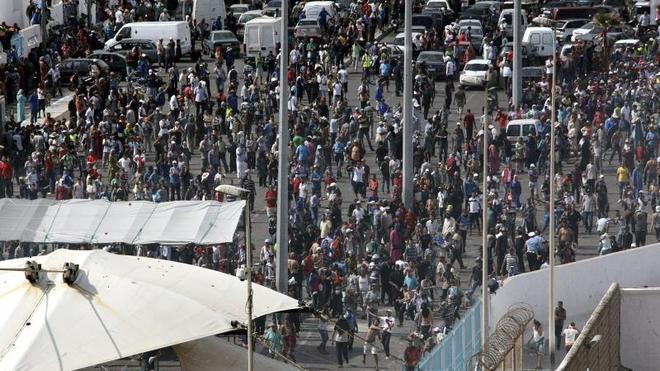 España y Marruecos «extreman» los controles en la frontera de Ceuta