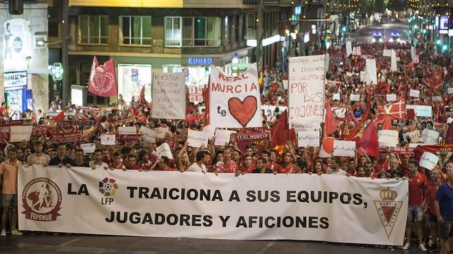 El TAD inadmite el recurso del Murcia