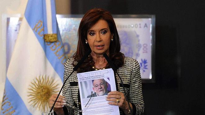 Cristina Fernández acusa a los 'fondos buitre' de «codicia»