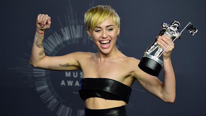 Miley Cyrus, protagonista de los MTV Video Music Awards