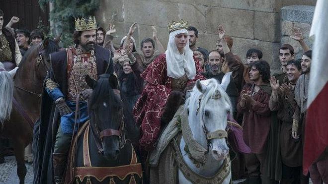 'Isabel' reina en una noche de estrenos